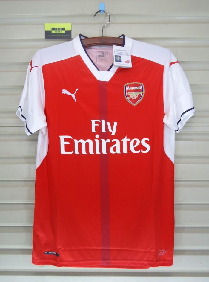 harga Arsenal 2016-17 home. bnwt. original jersey Tokopedia.com