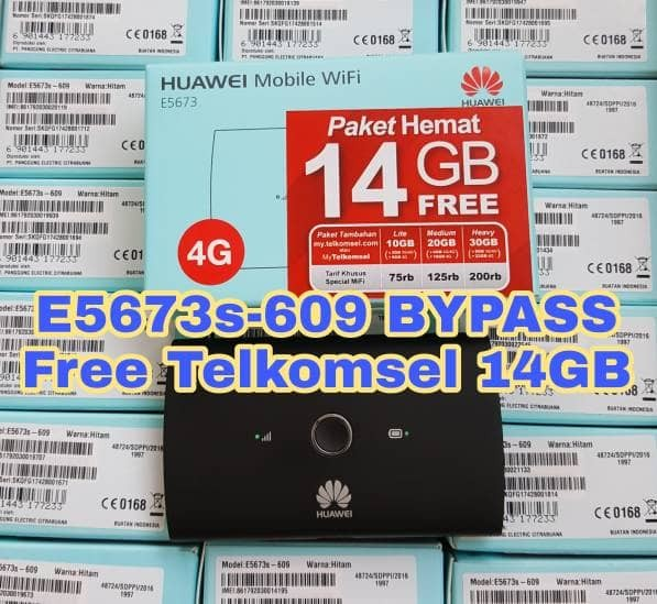 harga Mifi 4g Lte Huawei E5673 Bypass Free Tsel 14gb Tokopedia.com