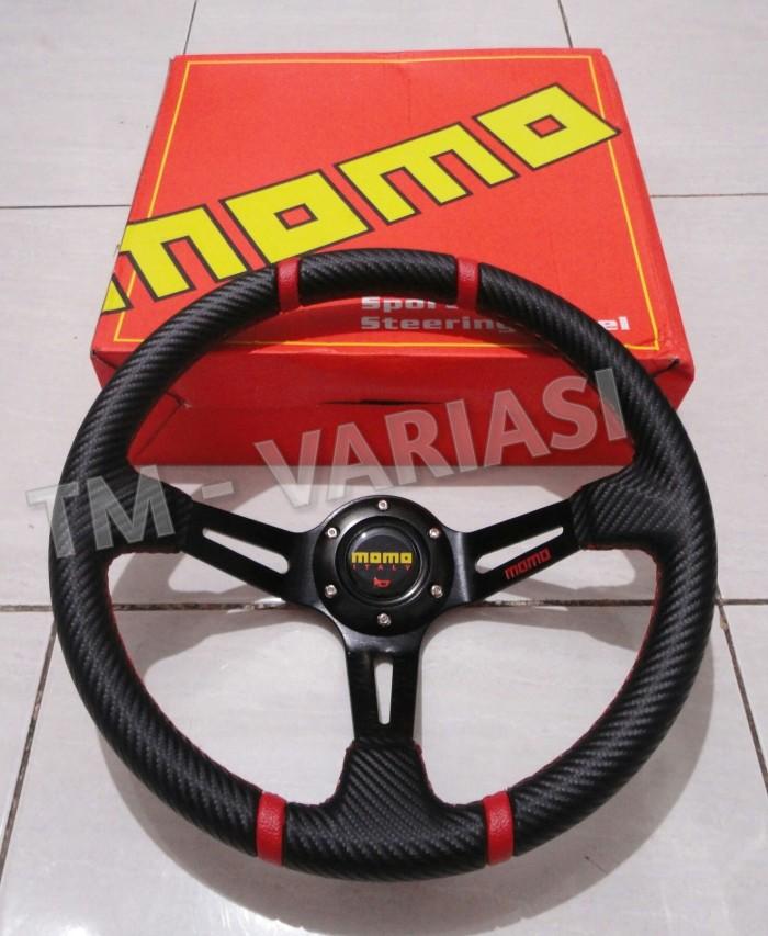 harga Stir racing momo carbon celong 14 inchi palang hitam export quality Tokopedia.com