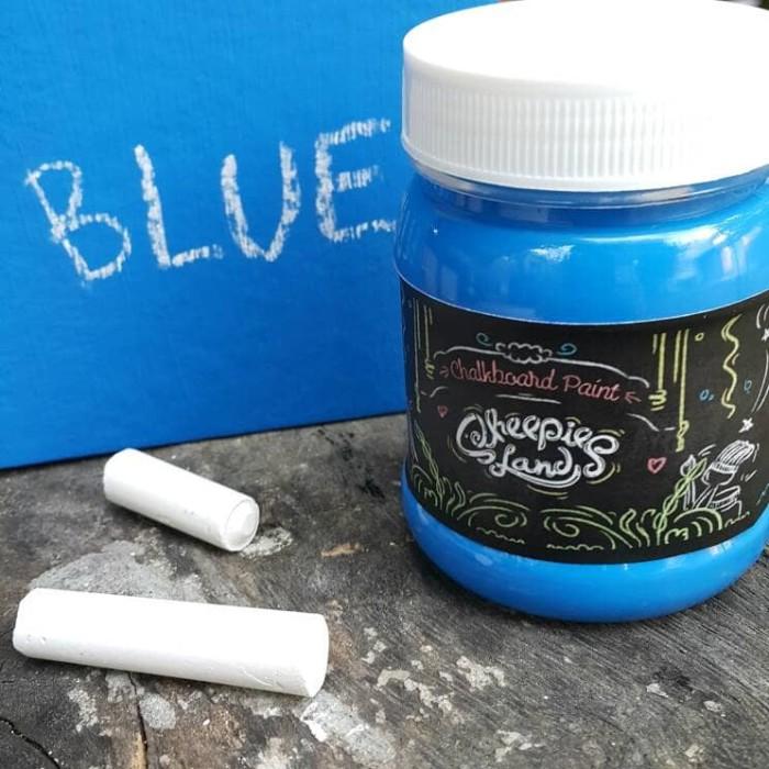 harga Chalkboard paint / cat papan tulis biru Tokopedia.com