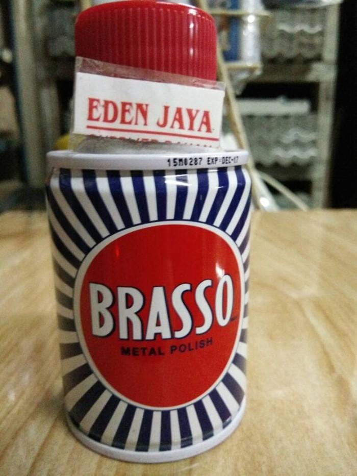 Foto Produk BRASSO METAL POLISH 100ML [Asli] dari TK BANGUNAN EDEN JAYA