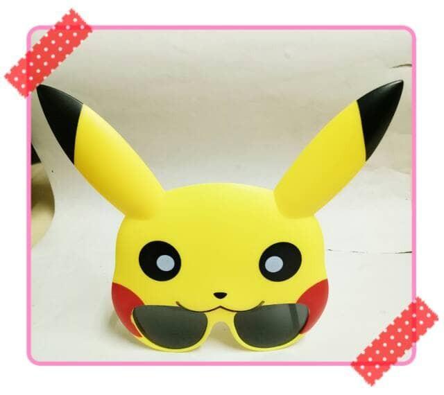 harga Kacamata kaca mata hitam item gaya lucu unik photobooth pokemon Tokopedia.com