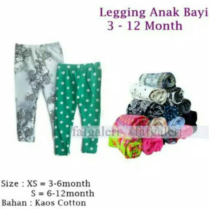 Jual Celana Legging Anak Bayi 3 12 Bulan Grosir Celana Legging Motif Kab Bogor Abbas19 Store Tokopedia