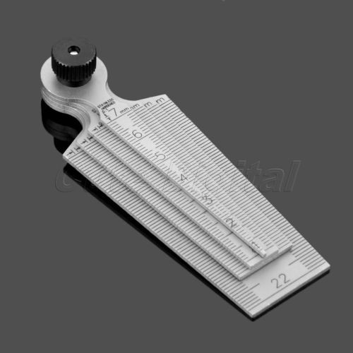 harga 1pc 0mm-29mm gap hole measuring taper gauge ruler inspecting tool 80mm Tokopedia.com
