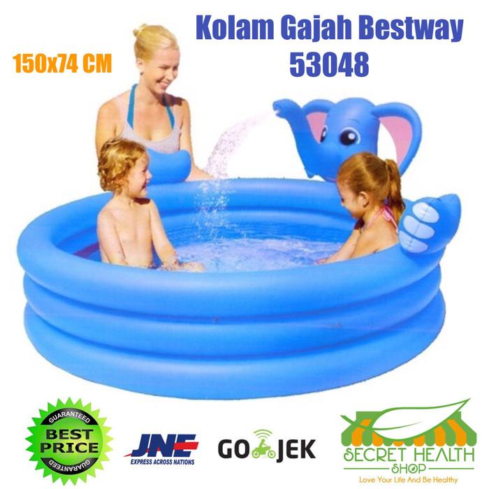 harga Bestway kolam renang gajah elephant pancur anak mandi bola bayi 53048 Tokopedia.com