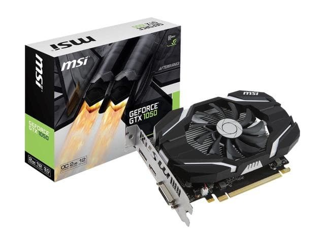 MSI GeForce GTX 1050 2GB DDR5 - OC
