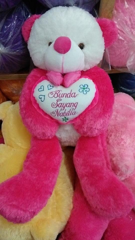 Foto Produk boneka cosi luna jumbo ukir nama dari NN BONEKAKU