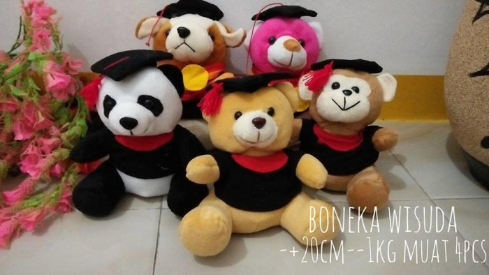Foto Produk Boneka wisuda dari NN BONEKAKU