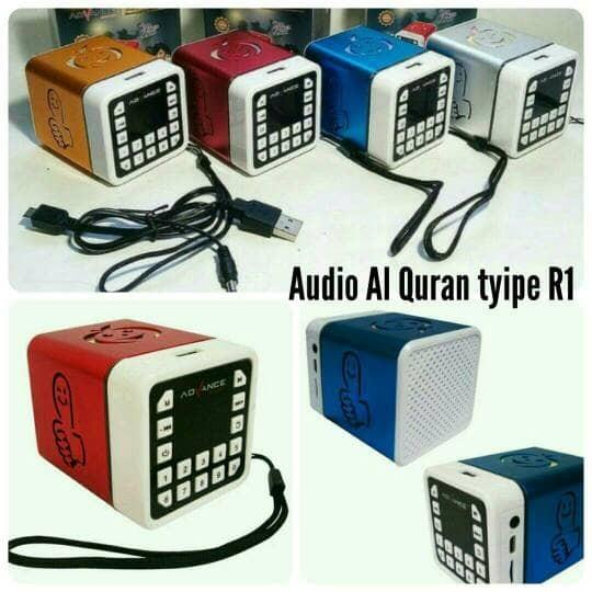 Jual Speaker Advance R1 Al Quran audio murottal digital hafalan murojaah -  Kota Bekasi - AQILA FAWWAZ | Tokopedia