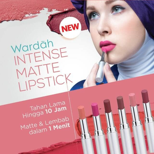 harga Lipstik wardah intensive matte lipstick Tokopedia.com