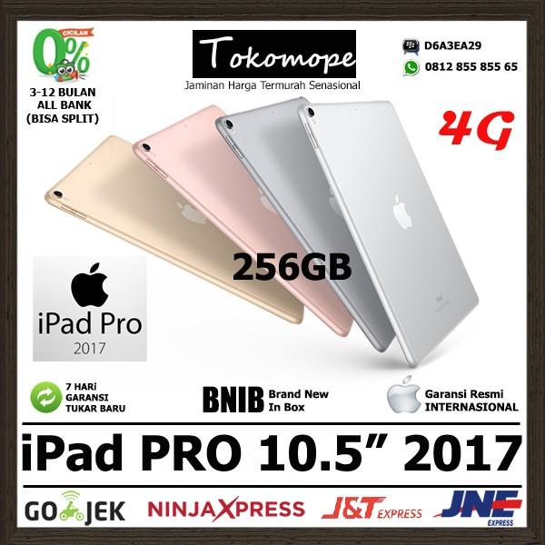 harga New ipad pro 2017 10.5 256gb wifi cell - grey rose gold silver / apple Tokopedia.com