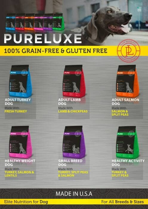 Foto Produk Pure Lux Dog Food Holistic & Grain Free USA 1,5 Kg dari Piramida Pet Shop Buaran