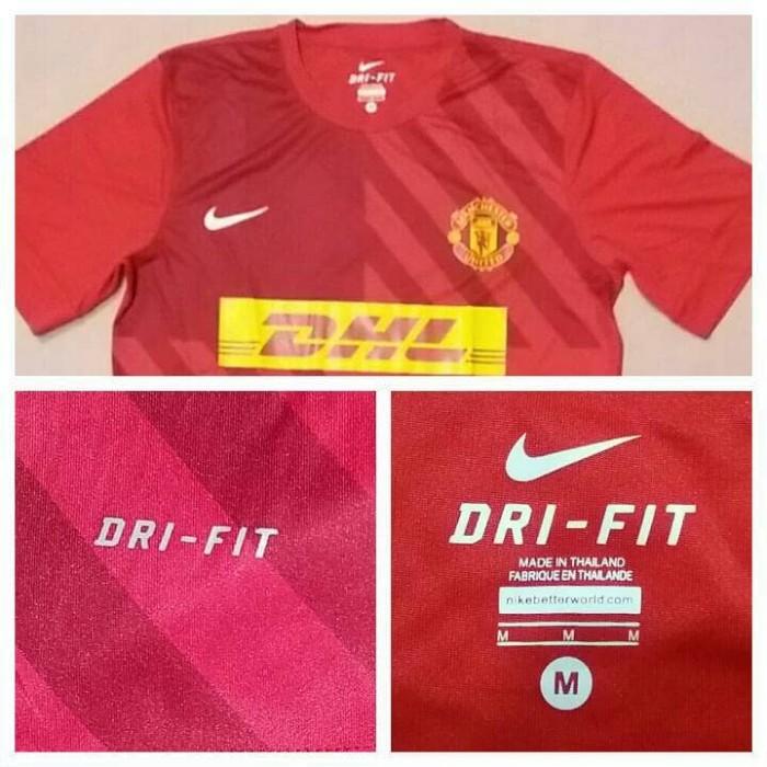 free shipping 56178 45436 Jual Jersey Pre-Match Training Manchester United 2012/2013 SS Nike DHL -  Kota Surabaya - AHP Store   Tokopedia