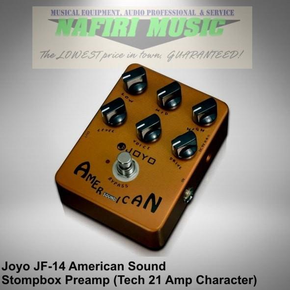 harga Efek gitar joyo jf-14 / joyo american sound (fender '57 deluxe clone) Tokopedia.com