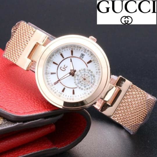 Jam Tangan wanita - cewek Gxxci Collection GC super premium m