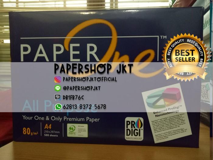 Foto Produk TERMURAH!!! Kertas PAPERONE A4 80 Gram Office Paper Print dari Paper Shop Jkt