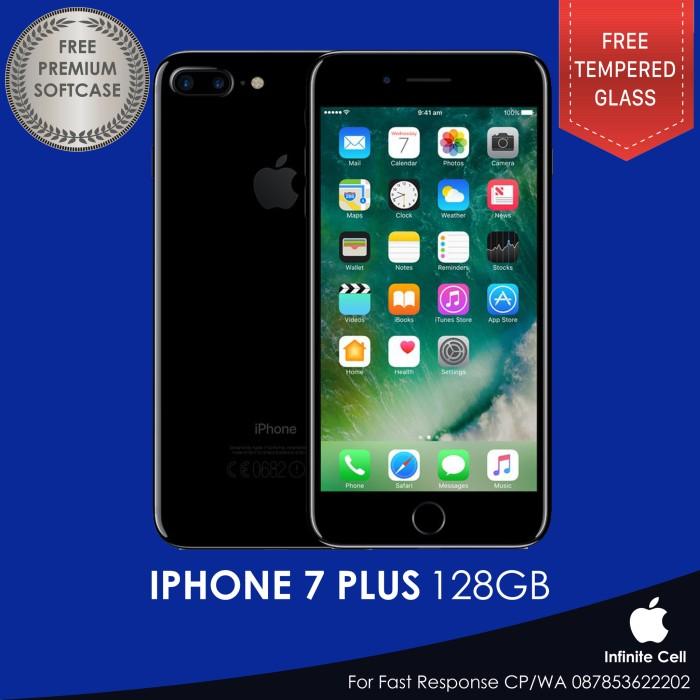 harga Iphone 7 plus jet black 128gb garansi apple internasional Tokopedia.com