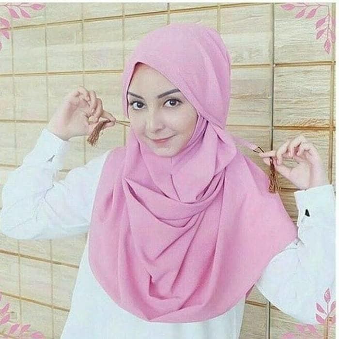 Jual Krudung Hijab Jilbab Instan Amira Bahan Diamond Craft Moderen