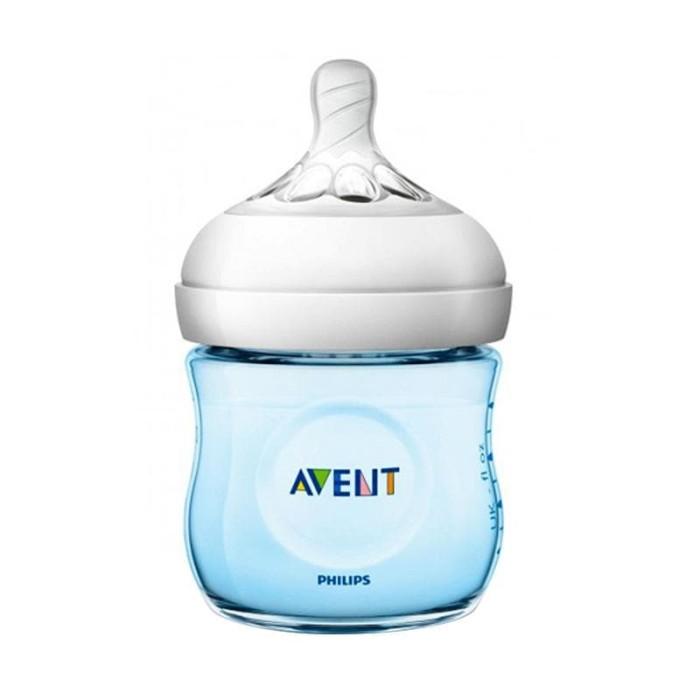 harga Philips avent scf692/13 bottle natural 125ml blue  botol susu bayi Tokopedia.com