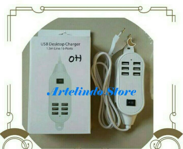 Katalog 6 Port Usb Charger Travelbon.com