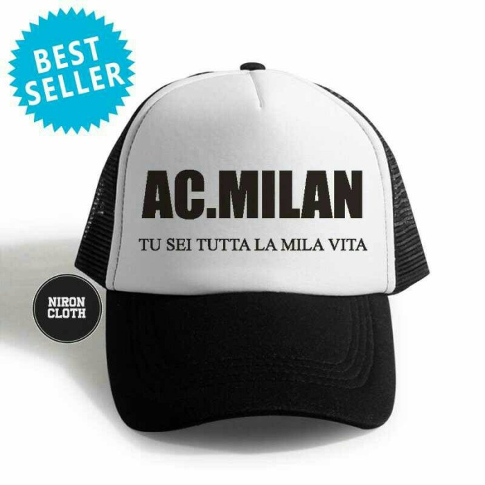 Seven Custom Topi Trucker Jaring Logo Real Madrid - Christmas Design ... addab7343a
