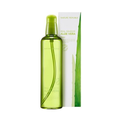 harga Real squeeze aloe vera toner 150ml soothing - nature republic Tokopedia.com