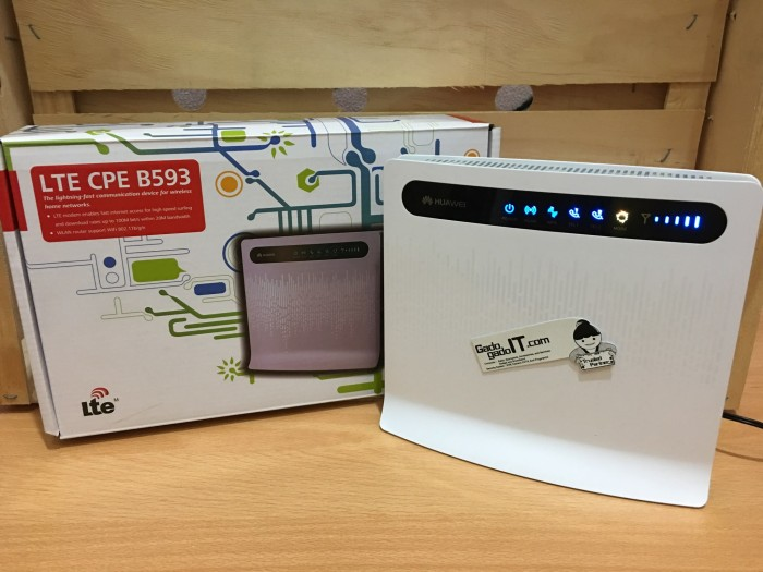 Jual Modem Mifi Wireless Router Huawei B593 4g Lte Cpe Unlock All