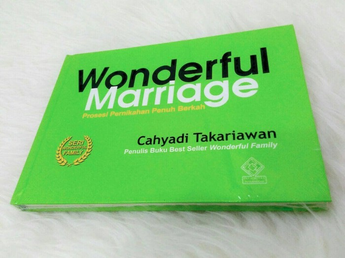 harga Wonderful marriage Tokopedia.com