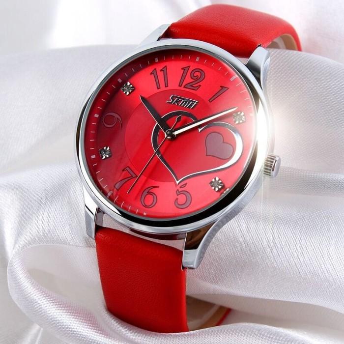 harga Skmei jam tangan analog strap kulit - 9085cl Tokopedia.com