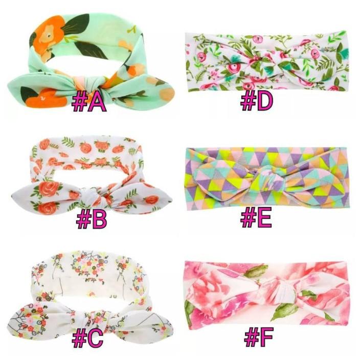 Bandana bayi turban wrap #new floral