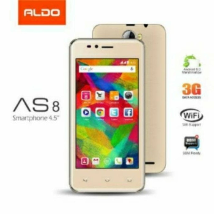 harga Handphone aldo as8 android - 4.5  3g 4gb ram 512mb Tokopedia.com