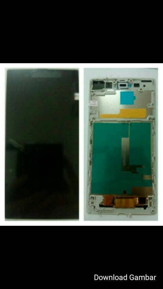 Lcd fullshett + frame sony xperia z1 l39h / c6902 original
