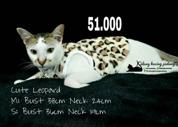 Jual Baju Kucing Leopard - Kota Padang - Kalung Kucing Padang | Tokopedia