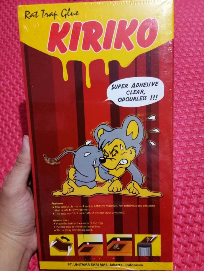 Jual Lem Tikus Kiriko Jakarta Barat Vanie Pricillia Shop Tokopedia