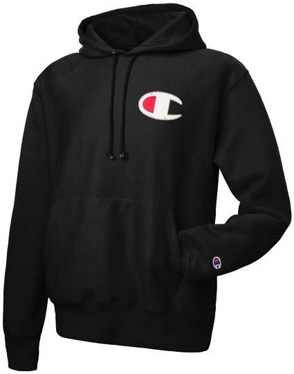 Hoodie Sweater Champion - Hitam - Glory Clothing
