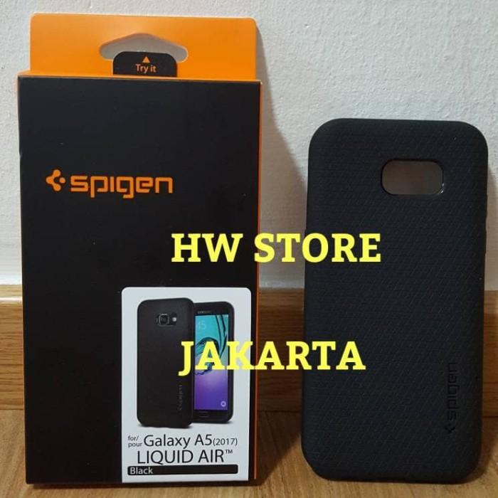 low priced 458f6 80544 Jual Original Spigen Liquid Air / Armor Samsung Galaxy A5 2017 Black - DKI  Jakarta - HW Store Jakarta | Tokopedia