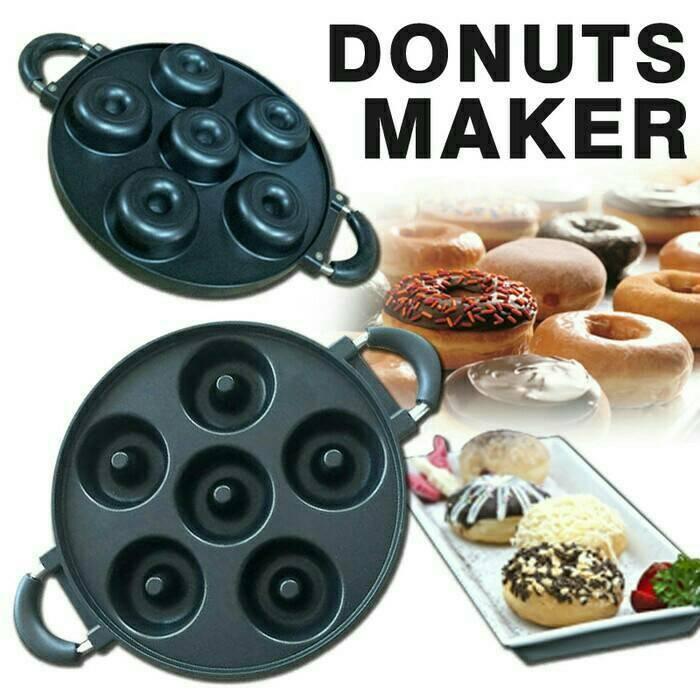 Donuts maker / alat masak donat 6 lubang