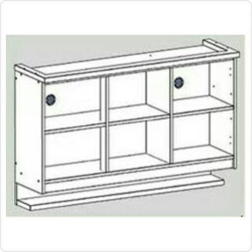 Laci Kitchen Set: Jual Lemari Dapur / Kitchen Set 3 Pintu Laci Atas Dan