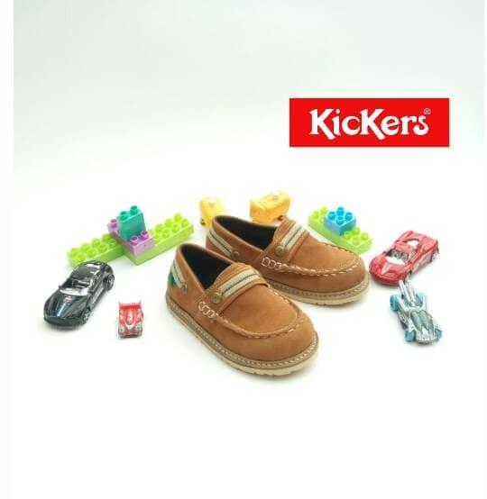 harga Sepatu anak   sepatu kickers anak   sepatu kickers casual anak brown  Tokopedia.com afd33e2cd3