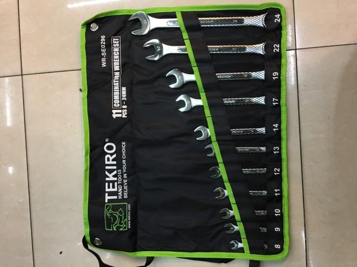 TEKIRO Kunci Ring Pas Set 11 pcs (8 - 24mm)