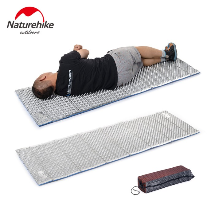 harga Naturehike matras lipat folding egg crate mat sleeping pad aluminium Tokopedia.com