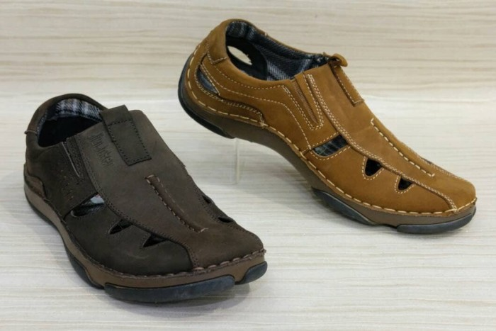 Jual Sepatu Sandal Pria Kulit Casual Formal By Jim Joker Original