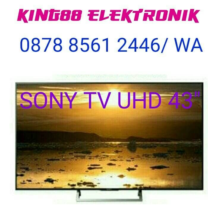 harga Sony tv 43  smart led tv uhd 4k kd-43x7000e Tokopedia.com