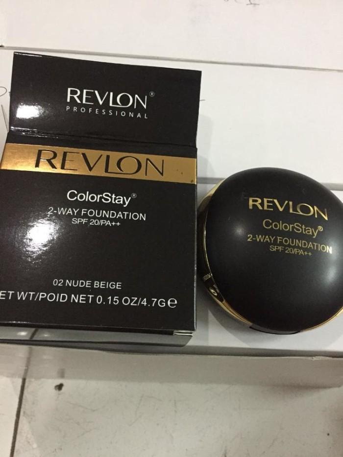 Bedak REVLON - Colorstay 2 Way Cake / Foundation & Powder 2in1