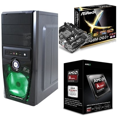 harga Pc gaming/cpu gaming a6 6400k/ddr3 4gb/hdd 320 gb Tokopedia.com