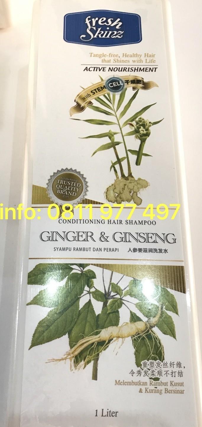 Jual Fresh Skinz Ginger Ginseng Shampoo Hijab Shampo Jilbab 1 Liter