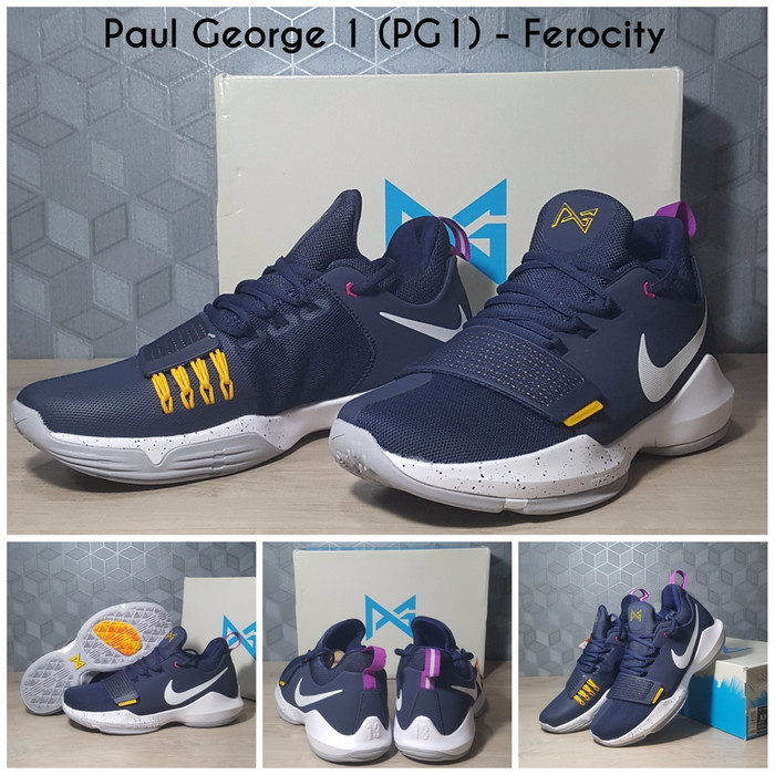 ad6dcad213c Jual Promo Sepatu Basket Nike PG 1 (Paul George 1) - Ferocity - Best ...