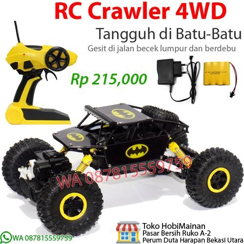 harga Rc rock crawler 4wd jeep (biru, merah, hijau, kuning) Tokopedia.com