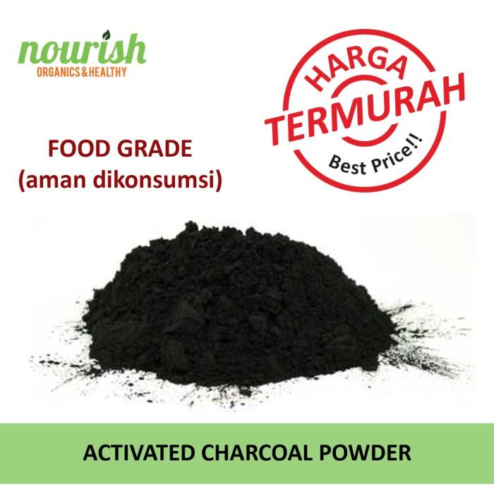 Activated cahrcoal powder (bubuk arang aktif) 150 g