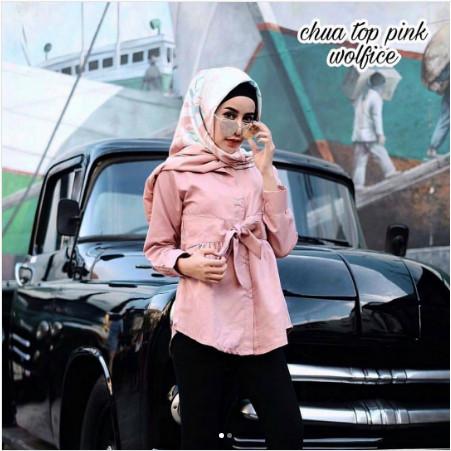 Grosir Baju Atasan Muslim Wanita Hijab Murah Dan Terbaru / Chua Top